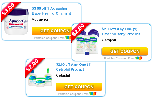 photo regarding Cetaphil Coupons Printable titled $7 Truly worth of Refreshing Cetaphil Aquaphor Printable Discount codes - Hip2Preserve