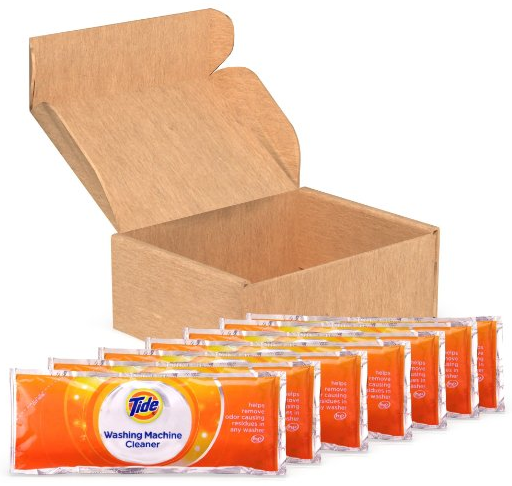 Tide Washing Machine Cleaner 7 Count Pack Only 6 45