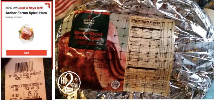 Target: Spiral-Sliced Honey Ham