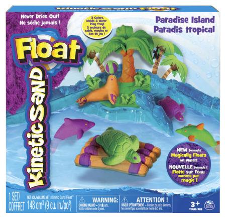 Kinetic Sand Float Paradise Island Set