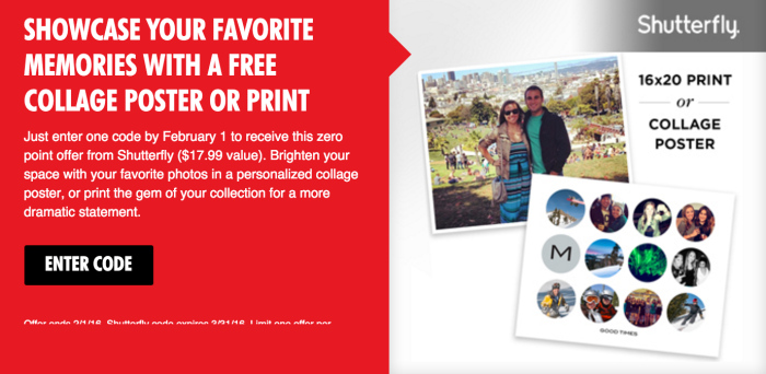 My Coke Rewards Enter 1 Code Free 16x20 Shutterfly Collage Poster