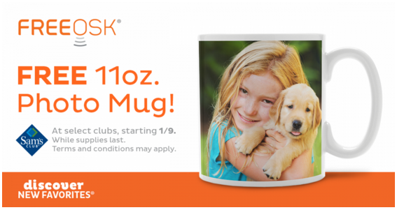 Sam's Club Free mug offer