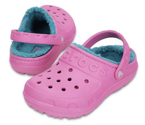 Kids' Crocs Hilo Lined Clog