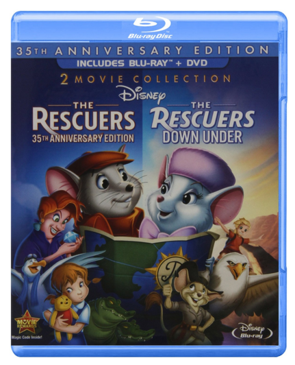 The Rescuers: 35th Anniversary Edition Blu-ray/DVD combo