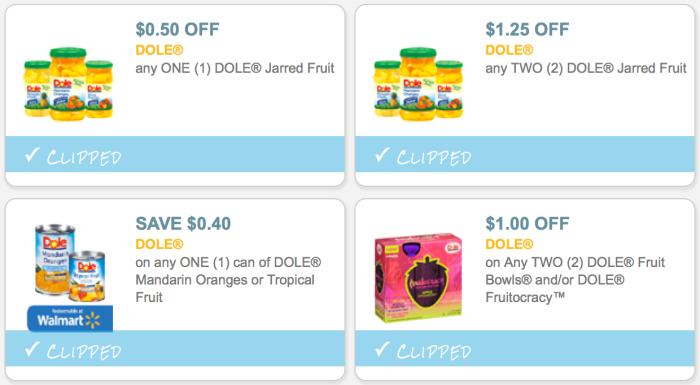 Dole Fruit coupons