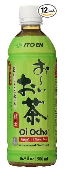 12 Pack of Ito En Tea Unsweetened Oi Ocha Green 16.9 Ounce Beverages