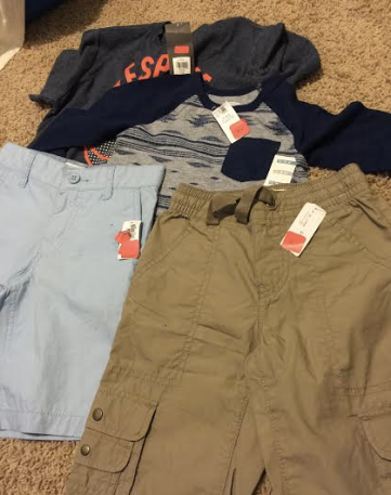 e28b0fdf0f8 Old Navy has additional 30% off on clearance items. I was able to get shirts  or other apparel items for as low as  0.33