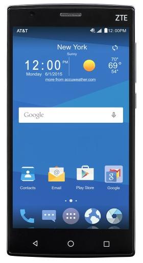AT&T GoPhone ZTE Zmax