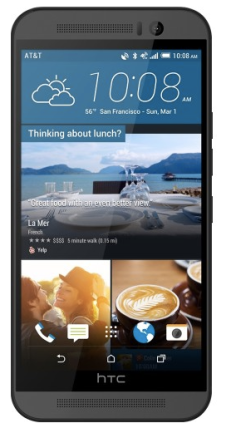 HTC One (M9) 4G with 32GB Memory Cell Phone in Gray