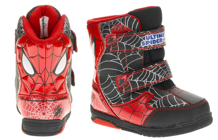 9b4eacedd8a Walmart  Spiderman Toddler Boy s Winter Boots Only  11.50 (Regularly ...