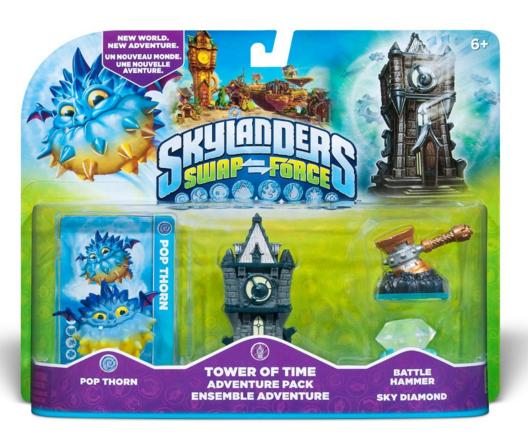 Skylanders SWAP Force Tower of Time Adventure Pack