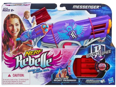 Target: Nerf Rebelle Messenger Blaster
