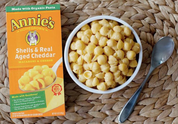 FREE Box of Annie's Mac & Cheese