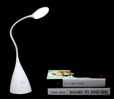 Deckey Touch-Sensitive and Dimmable LED Desk Lamp