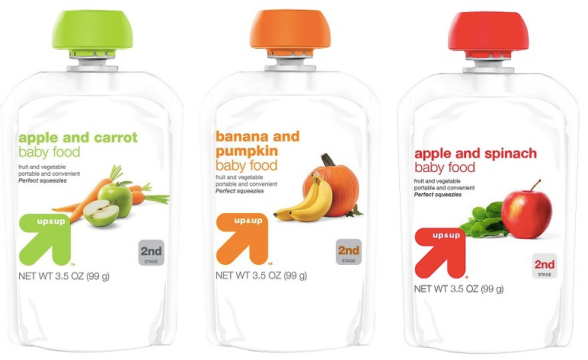 Up & Up Baby Food Pouches