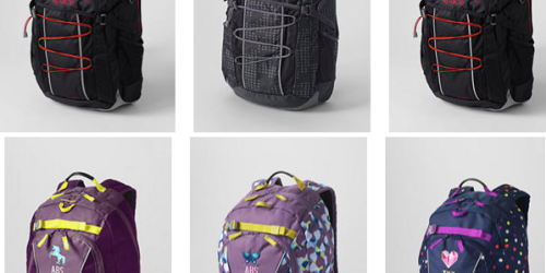 Lands End: 25% Off ONE Item = Kids Backpacks Starting at $14.99 (Reg. $39.99+) & More
