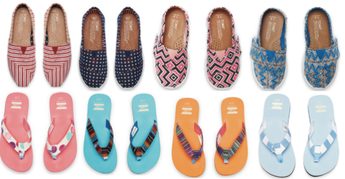 8f4da56e32f TOMS Surprise Sale: Up to 75% Off Select Styles = Tiny TOMS Only ...