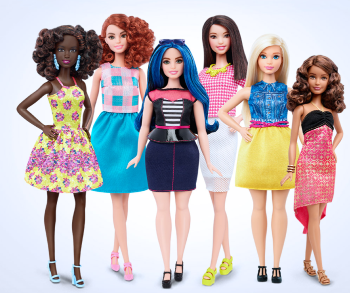 Mattel Releases 3 New Barbie Body Shapes…