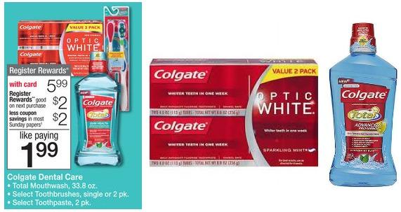 Walgreens Colgate Deal