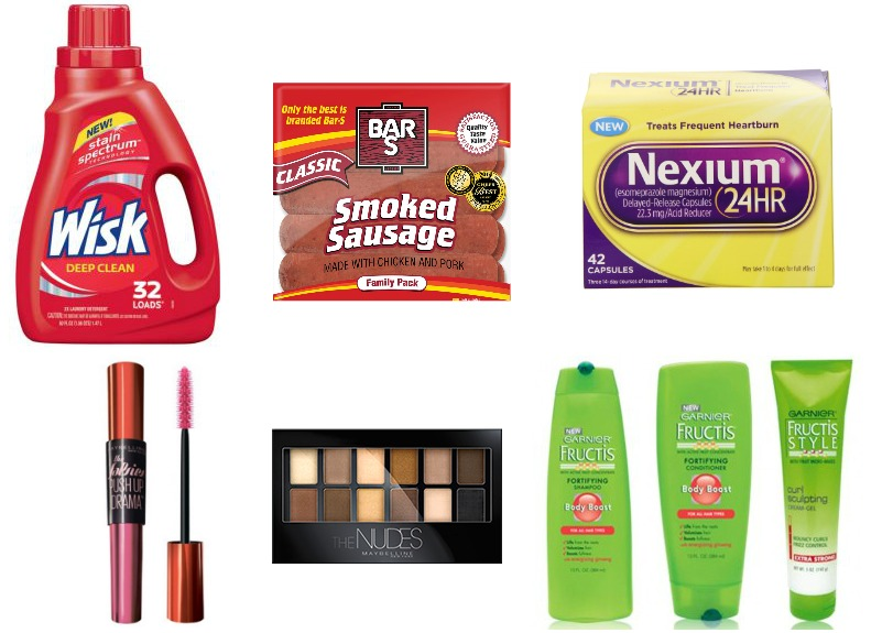 image about Nexium Printable Coupon titled Fresh Crimson Plum Printable Coupon codes (Conserve upon Garnier, Bar-S, Wisk