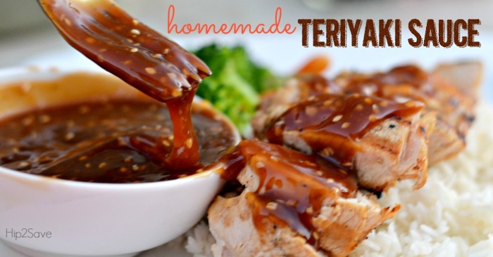 10 Minute Homemade Teriyaki Sauce