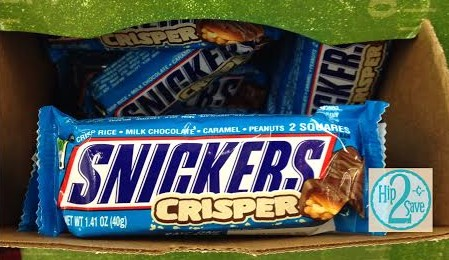 Snickers Crisper Candy Bar