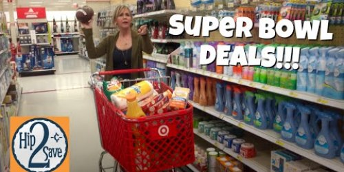 New Target Deal Shopping Video – Super Bowl Edition (Save on Chips, Soda & Much More!)