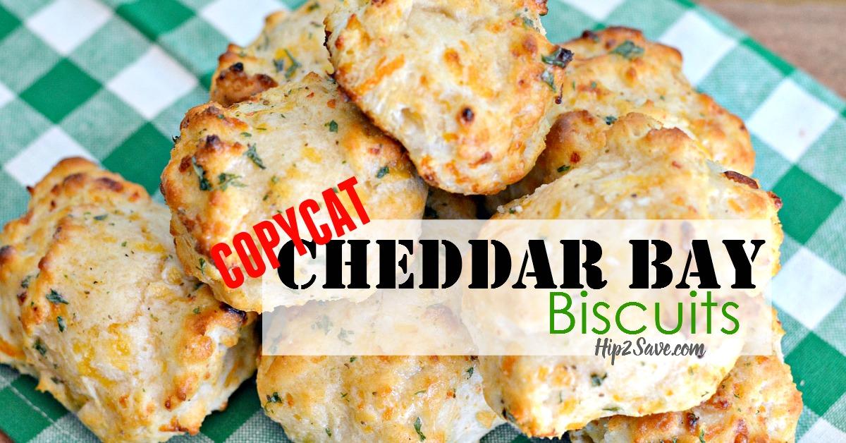 CopyCat Cheddar Bay Biscuits Hip2Save.com