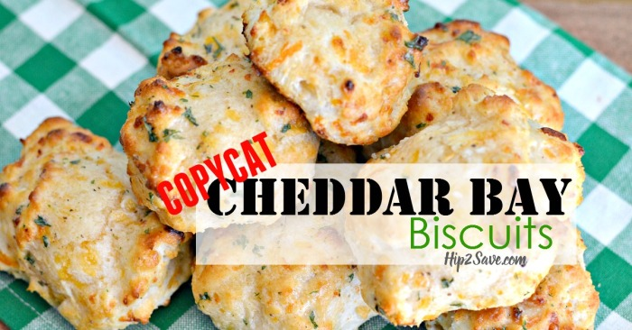 CopyCat Cheddar Bay Biscuits Hip2Save.com