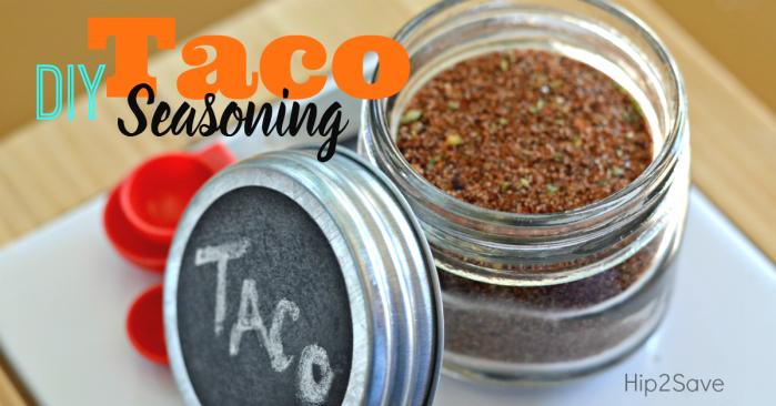homemade taco seasoning blend