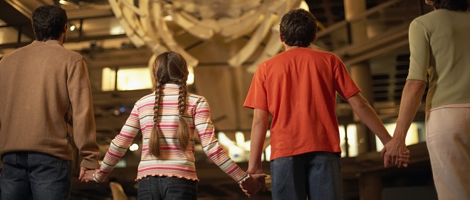 free museum admission – Family Enjoying a Museum Exhibit