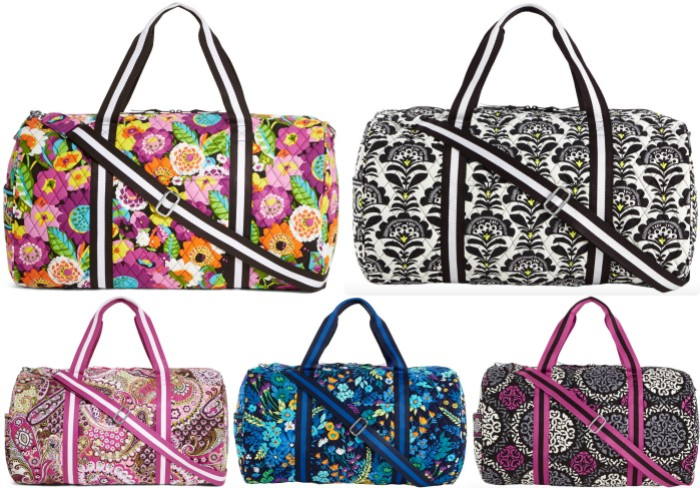 0ee6371ebb Vera Bradley Round Duffel Travel Bag ONLY  29.99 Shipped (Reg.  96 ...