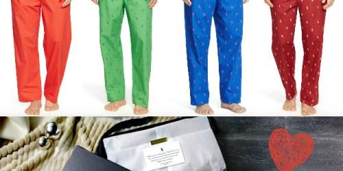 Ralph Lauren: Men's Allover Pony Sleep Pants Only $20.99 Shipped (Reg. $42) + Free Gift Box