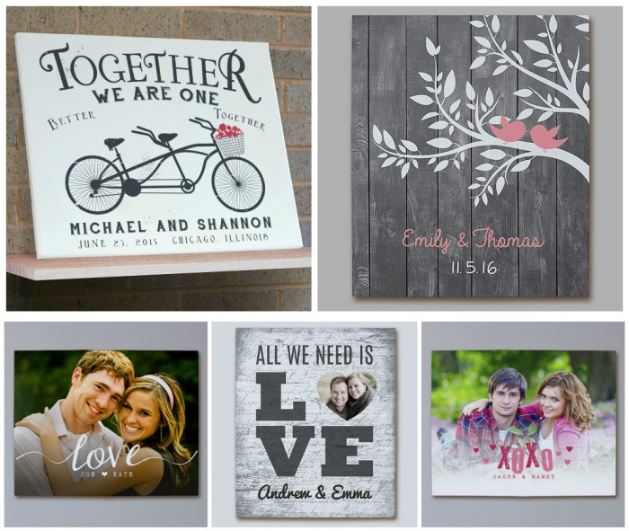 Personalized 11×14 Valentine's Day Canvas Just $25 Each (Regularly $49.98) – Great Gift Idea