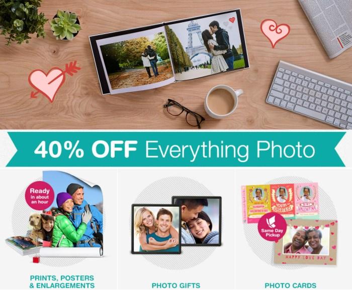 Walgreens Photo: 40% Off ANY Photo Purchase