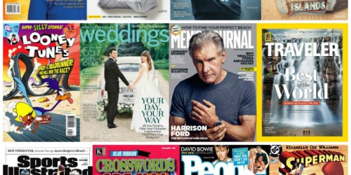 Weekend Magazine Sale: Save on Consumer Reports, ESPN, People, Sports Illustrated & More