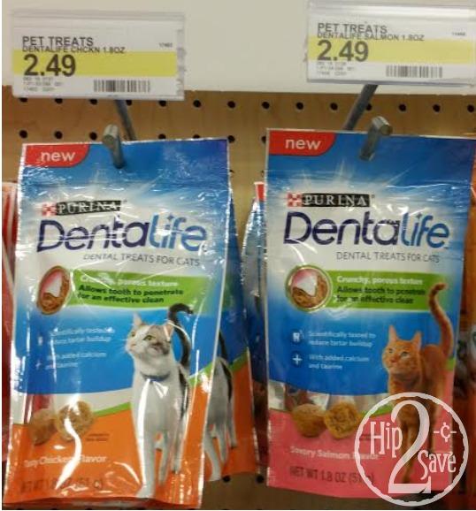 Purina DentaLife Cat Treats at Target (Hip2Save)