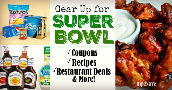 Super Bowl Round-Up Hip2Save