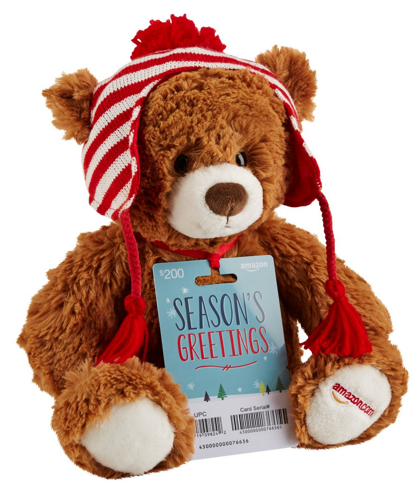Amazon GUND Teddy Bear Plush 2016 Exclusive Limited Edition For Christmas Gift