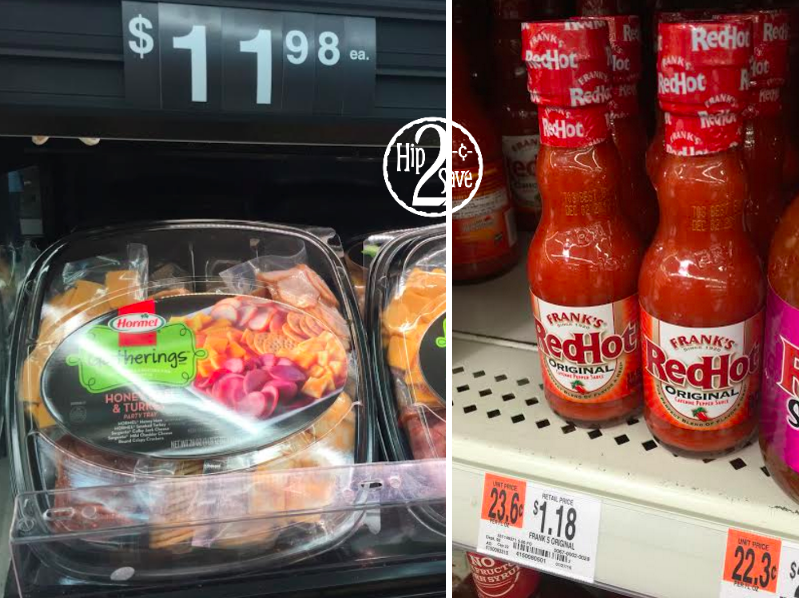 Walmart Deals: Save BIG on Hormel Party Trays, Frank's Hot