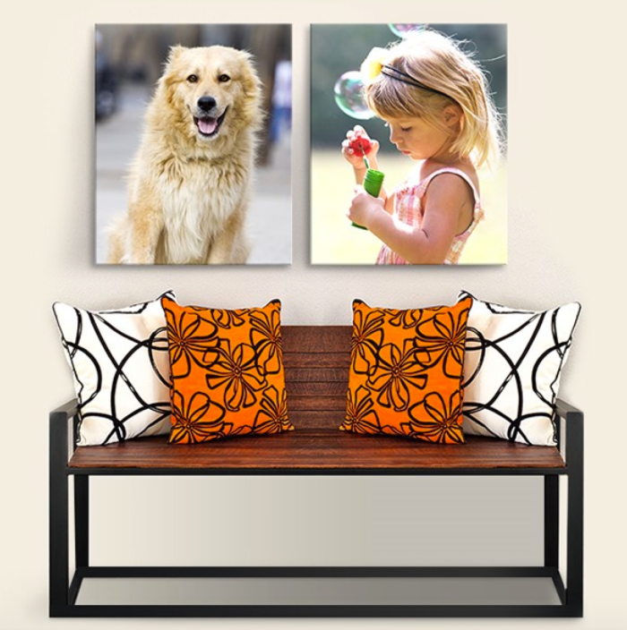 Easy Canvas Prints: 16″ x 20″ Photo Canvas Prints As Low As Only $26 Each Shipped