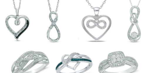 Zales: Necklaces and Rings ONLY $23.99 (Reg. $119) – Affordable Valentine's Day Gift Idea