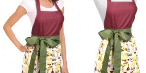 Flirty Aprons: Women's Kenzie Vineyard Dream Apron Only $10.99 Shipped (Reg. $26.95) + More