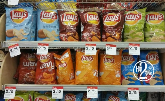 Target Lay's Chips