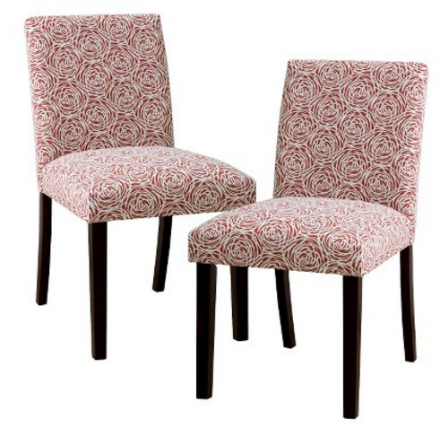 Target Two Uptown Upholstered Dining Chairs Only 62 98