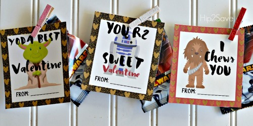 Star Wars Inspired Classroom Valentines (With Free Printables)
