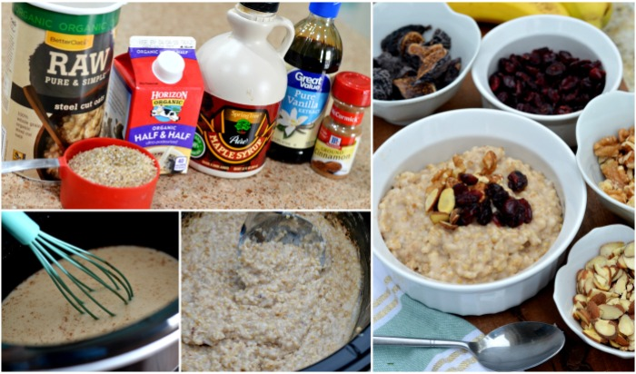 Steel Cut Overnight Oatmeal Hip2Save.com