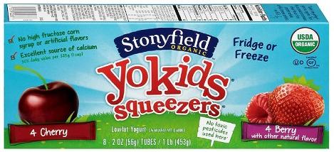 Stonyfield-YoKids-Squeezers