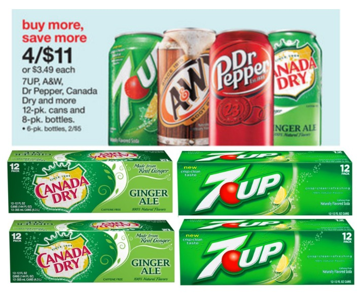 Target 7Up and Canada Dry Deal