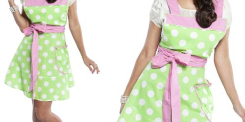Flirty Aprons: Women's Betty Lime Polka-Dot Apron Only $10.99 Shipped (Reg. $29.95) + More